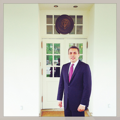Max at the White House