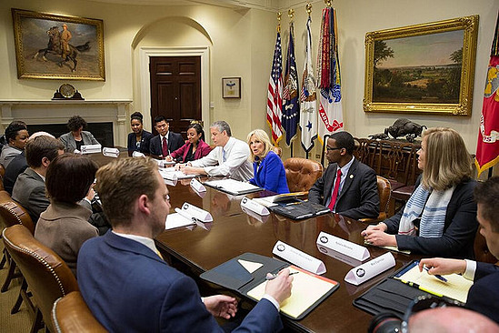 Meeting with Dr. Jill Biden at the White House