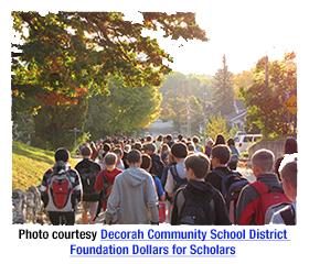 Decorah Community School District Foundation Dollars for Scholars