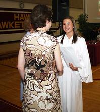 Graduate receives scholarship