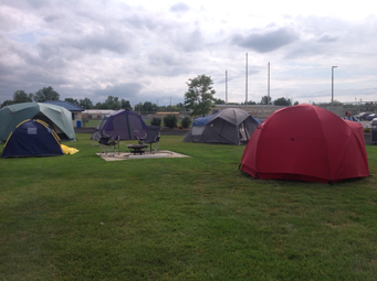 Sweet Home Dollars for Scholars Campaign Campout