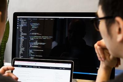 developer-reviewing-javascript