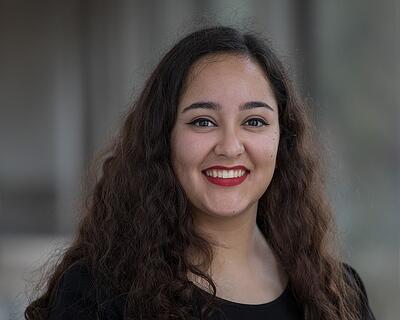 Jacqueline Vela, 2018 Dream Award Recipient